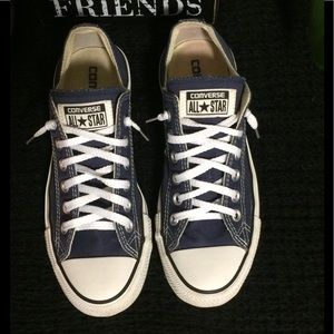Classic Converse chuck taylor all stars. Blue.